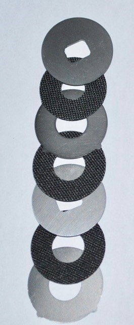 """Smoooooth Drag Carbontex """"replacement drag washers"""""""